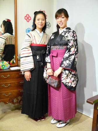小紋に袴で卒業式♪: ICHI 日和